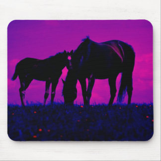 Horse & Filly Mouse Pad