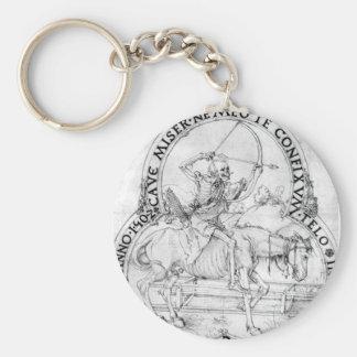 Horse final death by Albrecht Durer Keychain