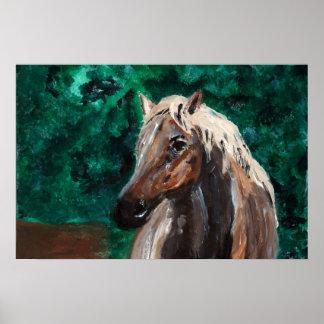 "Horse Fine Print Matte (24"" x 16"")"