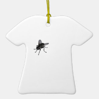 Horse fly. Double-Sided T-Shirt ceramic christmas ornament
