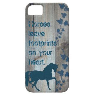 Horse Footprints iPhone SE/5/5s Case