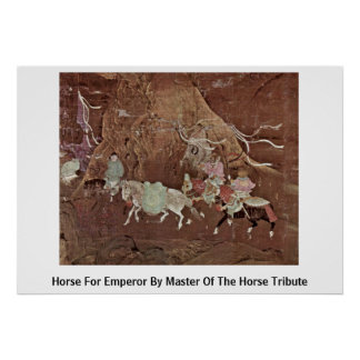 Horse For Emperor By Master Of The Horse Tribute Print