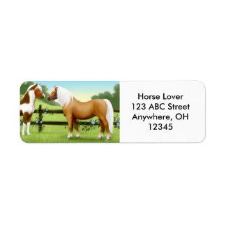 Horse Friends Label
