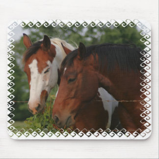Horse Friends Mouse Pad