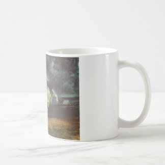 Horse Frightened by a Storm by Eugene Delacroix Coffee Mug