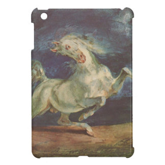 Horse Frightened by a Storm by Eugene Delacroix iPad Mini Covers