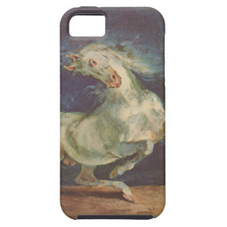 Horse Frightened by a Storm by Eugene Delacroix iPhone SE/5/5s Case
