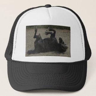 HORSE FROLICKING TRUCKER HAT