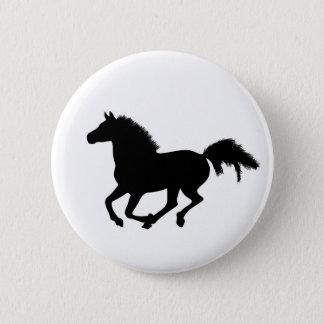 Horse galloping button, pin, gift idea button