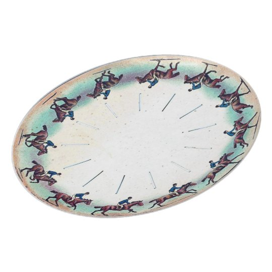 Horse Galloping Dinner Plate