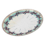 Horse Galloping Dinner Plates