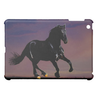 Horse galloping free cover for the iPad mini