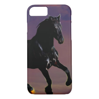 Horse galloping free iPhone 8/7 case