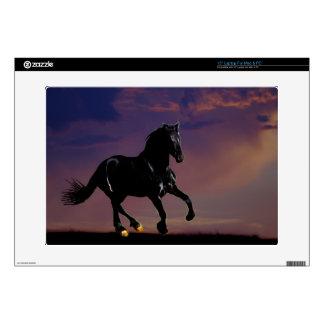 Horse galloping free skin for laptop
