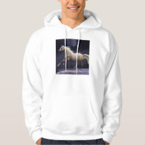 horse galloping hoodie