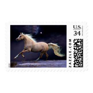 horse galloping postage