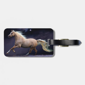 horse galloping tag for luggage