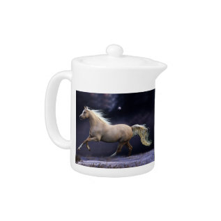 Horse Galloping Teapot at Zazzle