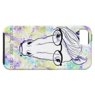 Horse Geek Chic iPhone SE/5/5s Case