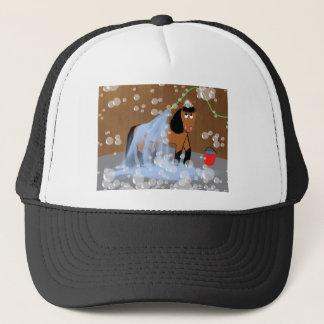 Horse Getting a Bath.tif Trucker Hat