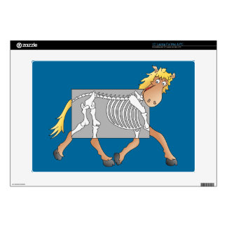 """Horse getting an x-ray decals for 15"""" laptops"""