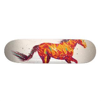 "Horse graphics deck ""skater made"" cool design"