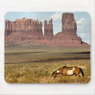 Horse Grazing, Monument Valley, UT Mouse Pad