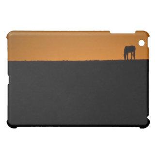 Horse grazing on Kentucky farm iPad Mini Cover