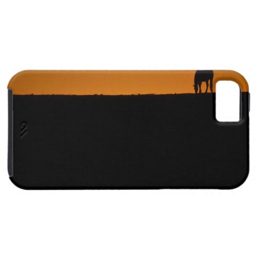 Horse grazing on Kentucky farm iPhone 5 Covers
