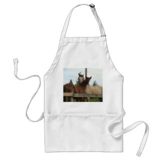 Horse Grooming Adult Apron