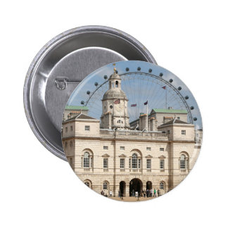 Horse Guards Parade, London, England 2 Inch Round Button