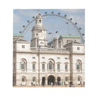 Horse Guards Parade, London, England Memo Notepads