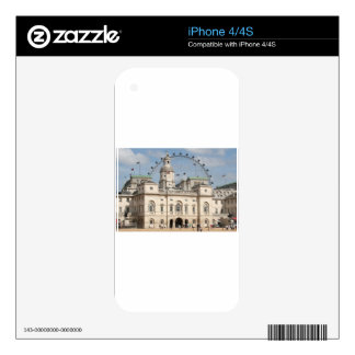 Horse Guards Parade, London, England iPhone 4S Decal