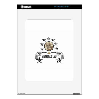 horse guns and marshal law decals for the iPad