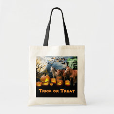 Horse Halloween Tote Bag at Zazzle