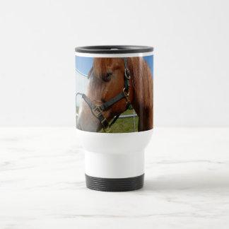 Horse Happiness 15 Oz Stainless Steel Travel Mug