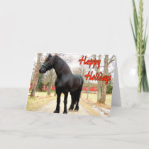 Horse Happy Holidays.jpg Holiday Card
