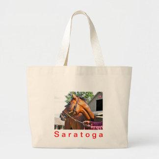 Horse Haven Barn  #47 at Saratoga Canvas Bags