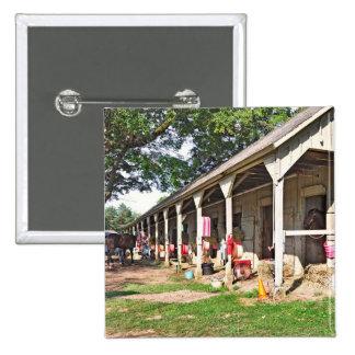 Horse Haven Barns at Saratoga Pinback Buttons