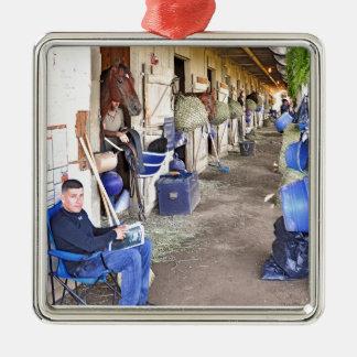 Horse Haven Metal Ornament