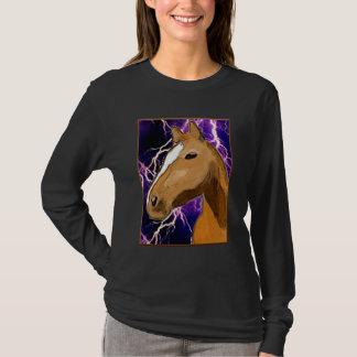 Horse Head and Lightening Shirt