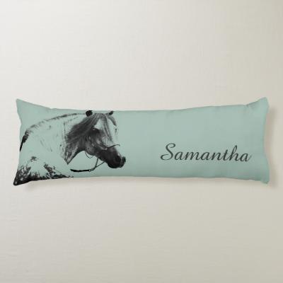 Horse Head Body Pillow