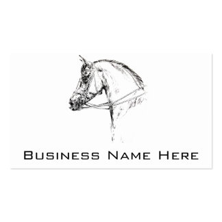 Horse Head Business Card
