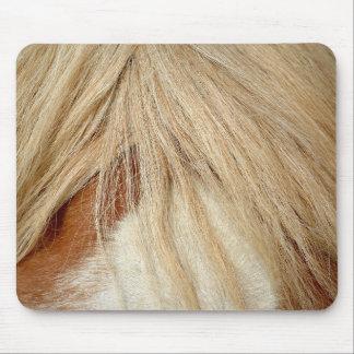Horse head closeup mouse pad