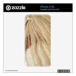 Horse head closeup iPhone 4 decal