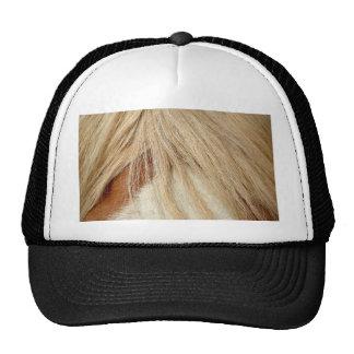 Horse head closeup trucker hat