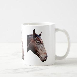 Horse head. coffee mug