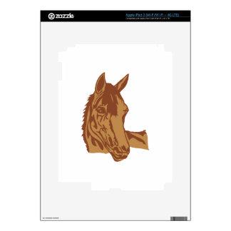 Horse Head Decal For iPad 3