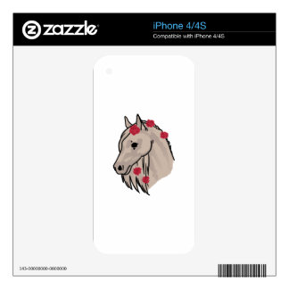 Horse Head Decal For The iPhone 4