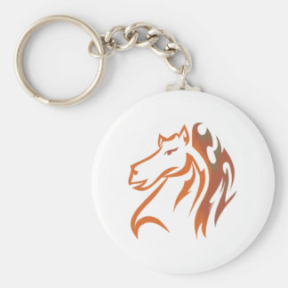Horse head horse head key chain